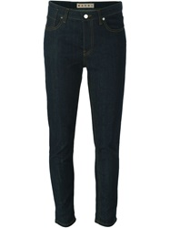 Marni Slim Fit Jeans Blue