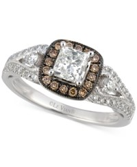 Le Vian Bridal Diamond Engagement Ring 1 1 5 Ct. T.W. In 14K White Gold