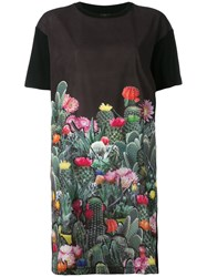 Paul Smith Ps By Cactus Blossom Printed Dress Black