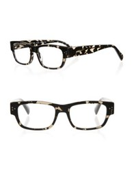 Eyebobs Dot Com 03 47Mm Square Reading Glasses Grey Marble