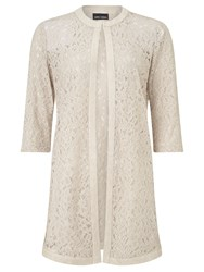 Gerry Weber Longline Lace Jacket Reed