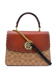 Coach Parker Tote Brown