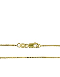 Lord And Taylor 14K Yellow Gold Box Chain Necklace