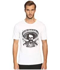The Kooples Graphic Crew Neck T Shirt White Men's T Shirt