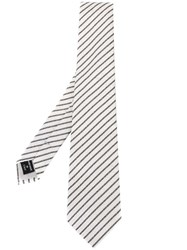 Giorgio Armani Striped Tie Nude Neutrals