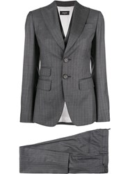 Dsquared2 Tailored Fitted Suit Grey