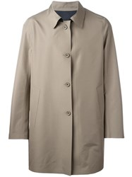 Kiton Casual Coat Nude Neutrals