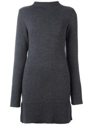 Societe Anonyme 'Vulcano' Knitted Dress Grey