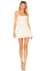 Majorelle Tahoe Dress Ivory