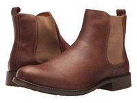 Massimo Matteo Chelsea Pt Boot Cognac Pull On Boots Tan