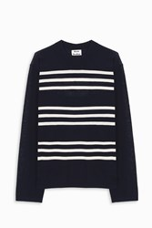 Acne Studios Men S Kus Knitted Jumper Boutique1 Ivory