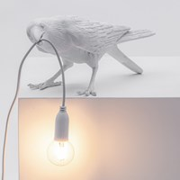 Seletti Bird Lamp Playing Us Aus Plug White