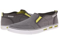 Columbia Vulc N Vent Slip Shale Oyster Men's Shoes Gray