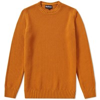 Barbour Kelp Crew Sweat Orange