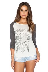 Spell And The Gypsy Collective Dreamers Raglan White