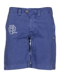 Blauer Bermudas Dark Purple