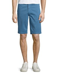 Ag Adriano Goldschmied Griffin Salton Flat Front Shorts Sky Blue