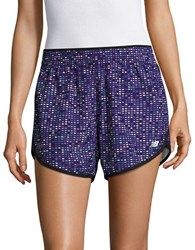 New Balance Elasticized Running Shorts Purple