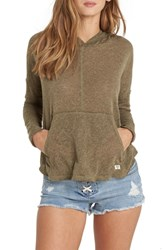 Billabong These Days Hooded Swing Top Olive