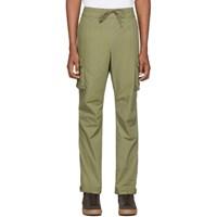 John Elliott Green Panorama Cargo Pants