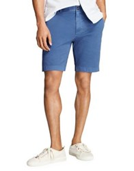 Brooks Brothers Stretch Twill Shorts Navy