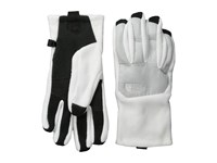 The North Face Denali Etip Glove Tnf White High Rise Grey Heather Extreme Cold Weather Gloves Black