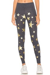 Chaser Starry Night Legging Charcoal