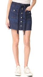 7 For All Mankind A Line Miniskirt Luxe Lounge