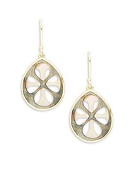 Ippolita Rock Candy 18K Yellow Gold And Shell Drop Earrings