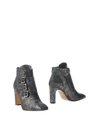 Rebeca Sanver Ankle Boots Steel Grey