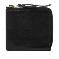 The Real Mccoys Mccoy's Horsehide Wallet Black