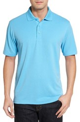 Bugatchi Men's Textured Jersey Polo Ice
