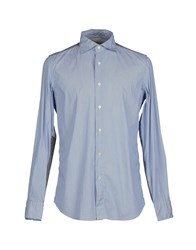 Coast Weber And Ahaus Shirts Shirts Men Pastel Blue