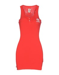 Franklin And Marshall Topwear Vests Women Red