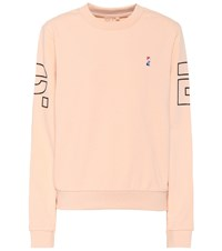 P.E Nation Moneyball Cotton Sweatshirt Pink