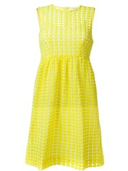 P.A.R.O.S.H. 'Plastic' Dress Yellow And Orange