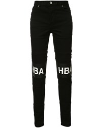 Hood By Air Printed Text Trousers Black