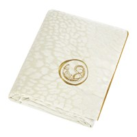 Roberto Cavalli Sigillo Throw 130X180cm Ivory