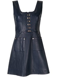 Alice Mccall Sweet Street Mini Dress Blue