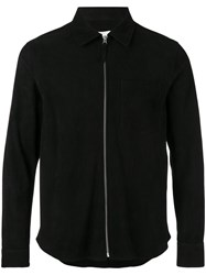 Our Legacy Zipped Bomber Jacket Black