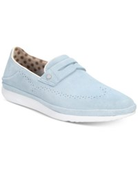 Ugg Cali Suede Penny Slip On Drivers Shoes Dream Blue