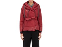 Bacon Women's Hooded Jacket Burgundy