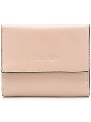 Calvin Klein Small Trifold Purse Nude And Neutrals