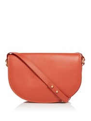 Maison De Nimes Mera Saddle Shoulder Bag Orange