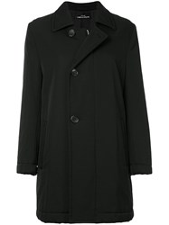 Comme Des Garcons Vintage Dislocated Fastening Padded Coat Black