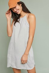 Cloth And Stone Halter Dress Light Grey