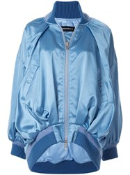 Undercover Relaxed Fit Bomber Jacket Blue