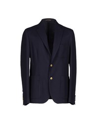 Royal Hem Blazers Dark Blue