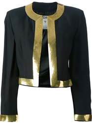 Moschino Vintage Cropped Bolero Jacket Black