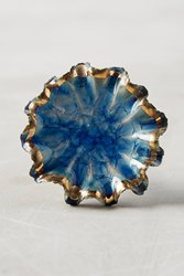 Anthropologie Delicate Forager's Knob Blue